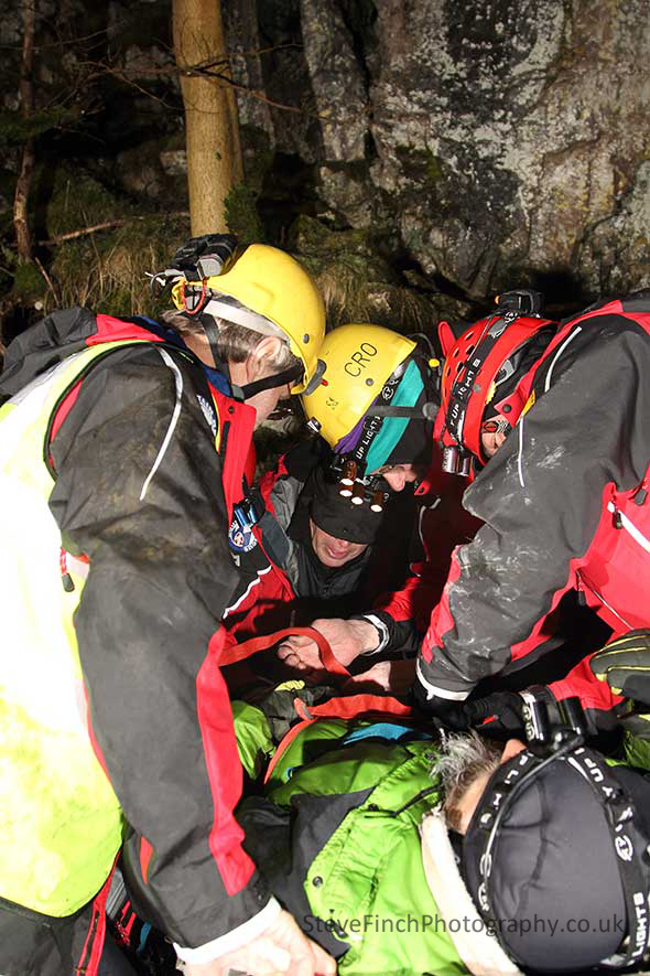 rescue team training